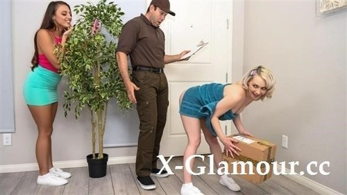 Gia Derza, Ava Sinclaire - Pranks For A Big Ass Package (HD)