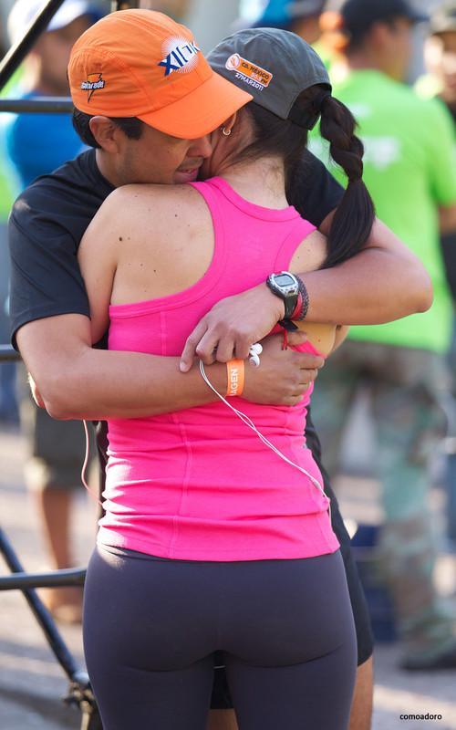 marathon hottie in yogapants