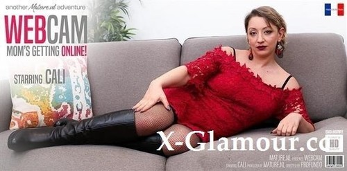 """Cali in """"Naughty Mom Cali Is Going All The Way In Front Of A Webcam"""" [FullHD]"""
