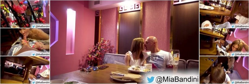 Mia Bandini,Luxurygirl - Public Blowjob party with Luxurygirl after lunch in a Restaurant (UltraHD/4K)