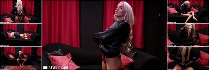 Katia - Russian playmate Katia in a leather straitjacket (FullHD)