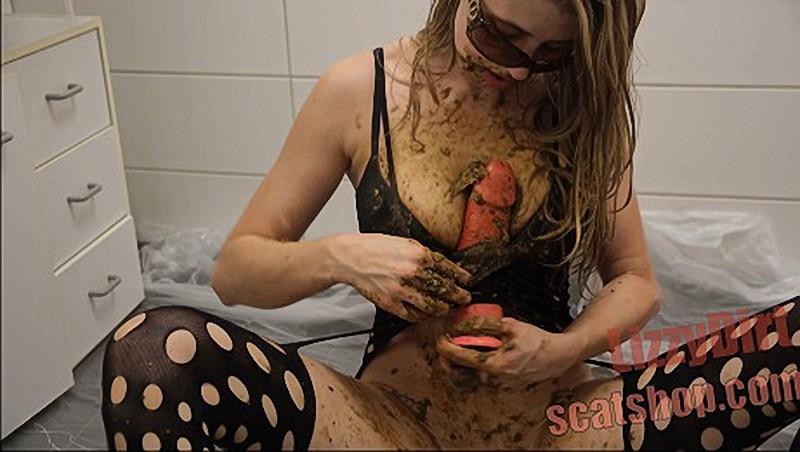 LizzyDirt - Lustful self humiliation in brutal scat fuck [UltraHD/4K 2160P]