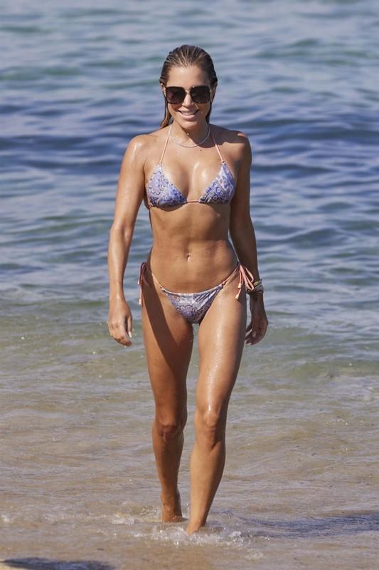 handsome dutch babe Sylvie Meis in wet bikini
