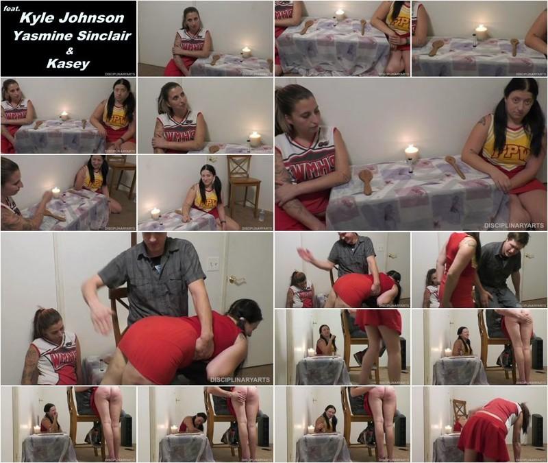 Kyle Johnson, Yasmine Sinclair - Gns: Rock Paper Spank: Cheer Edition Pt 1 (1080p)