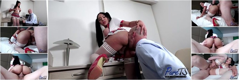 Nathaly Lisseth - Knowing Her Professor's Weakness (SD)