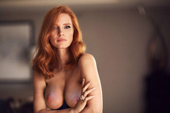 Jessica Chastain topless Scenes From a Marriage deleted scene UHQ